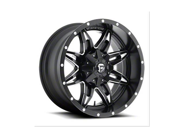 Fuel Wheels Lethal Gloss Black Milled Wheel; 15x10 (76-86 Jeep CJ5 & CJ7)