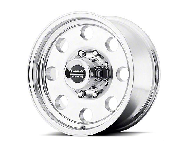 American Racing AR172 Baja Polished Wheel; 16x10 (76-86 Jeep CJ5 & CJ7)