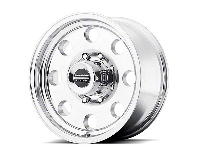 American Racing AR172 Baja Polished Wheel; 17x9 (76-86 Jeep CJ5 & CJ7)