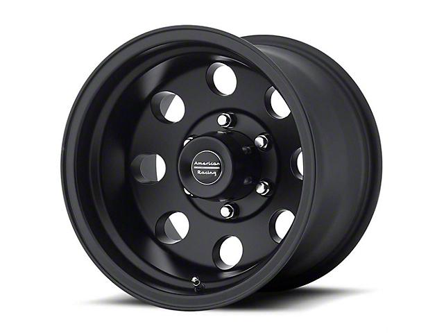 American Racing AR172 Baja Satin Black Wheel; 17x9 (76-86 Jeep CJ5 & CJ7)