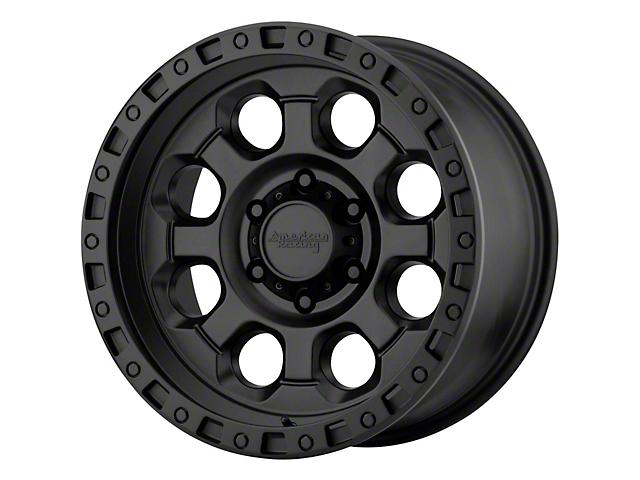 American Racing AR201 Cast Iron Black Wheel; 15x10 (76-86 Jeep CJ5 & CJ7)