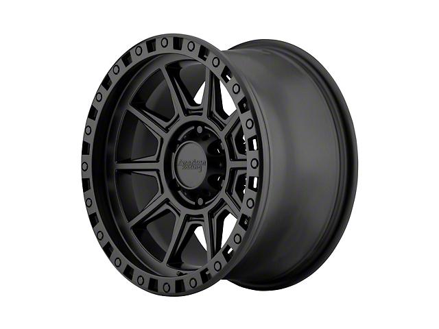 American Racing AR202 Cast Iron Black Wheel; 17x9 (76-86 Jeep CJ5 & CJ7)