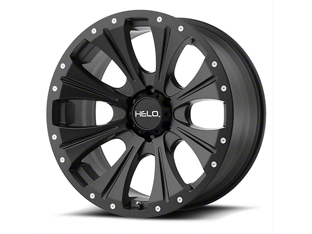 HELO HE901 Satin Black Wheel; 17x9 (76-86 Jeep CJ5 & CJ7)