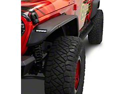 Bestop HighRock 4x4 Granite Series Front Fender Flares; Black (20-22 Jeep Gladiator JT)