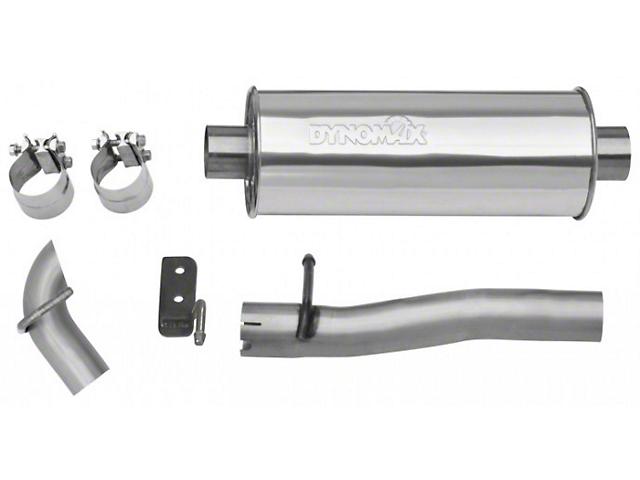 Dynomax Ultra Flo Welded Cat-Back Exhaust (07-11 3.8L Jeep Wrangler JK 4-Door)