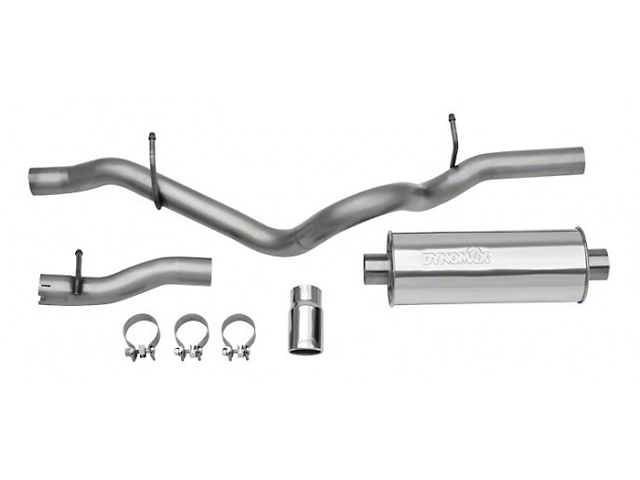 Dynomax Ultra Flo Welded Cat-Back Exhaust (12-18 3.6L Jeep Wrangler JK 2-Door)