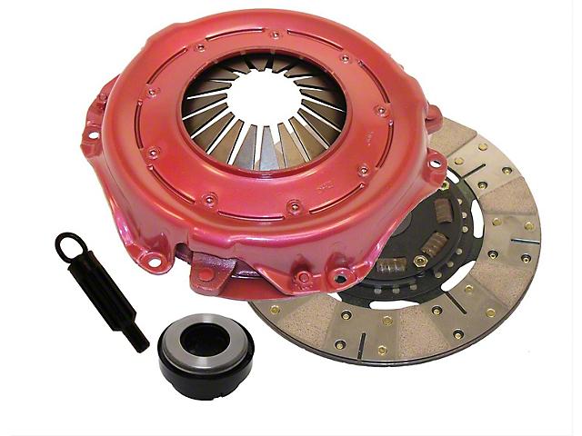 RAM Clutches Powergrip Metallic/Organic Clutch Kit; 10 Spline (90-92 4.0L or 4.2L Jeep Wrangler YJ)