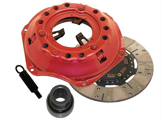 RAM Clutches Powergrip Metallic/Organic Clutch Kit; 10 Spline (76-79 4.2L Jeep CJ5 & CJ7)