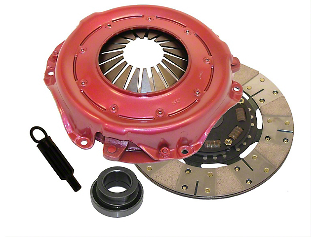 RAM Clutches Powergrip Metallic/Organic Clutch Kit; 10 Spline (00-06 4.0L Jeep Wrangler TJ)