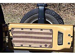 HD MOLLE Tailgate Panel; Black (07-18 Jeep Wrangler JK)