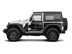 Mek Magnet Magnetic Body Armor; Black Flag (18-21 Jeep Wrangler JL 2-Door)