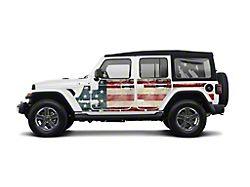 Mek Magnet Magnetic Body Armor; The Patriot (18-21 Jeep Wrangler JL 4-Door)