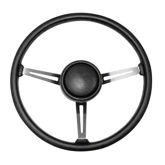 Steering Wheel Kit w/ Horn Button Cap (87-95 Jeep Wrangler YJ)