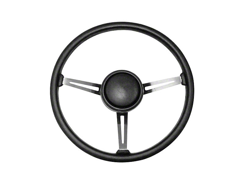 Steering Wheel Kit w/ Horn Button Cap (87-95 Jeep Wrangler YJ)