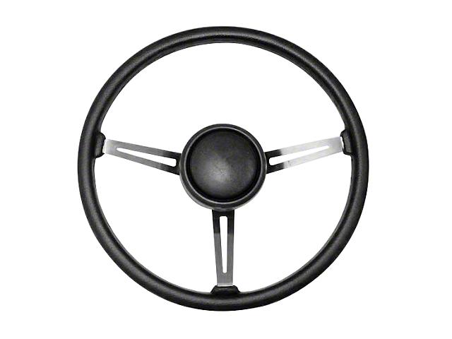Omix-ADA Steering Wheel Kit w/ Horn Button Cap (87-95 Jeep Wrangler YJ)