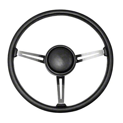 Omix-ADA Steering Wheel Kit w/ Horn Button Cap (87-95 Jeep Wrangler YJ)