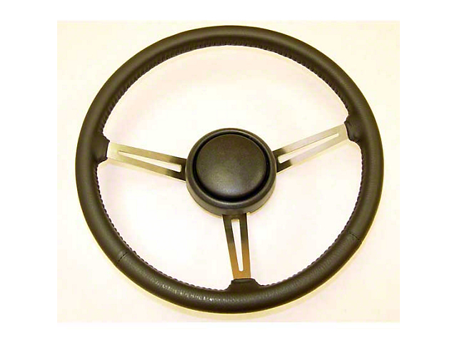 Steering Wheel; Leather (87-95 Jeep Wrangler YJ)