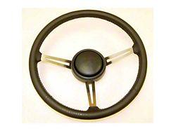 Steering Wheel; Leather (87-95 Jeep Wrangler YJ)