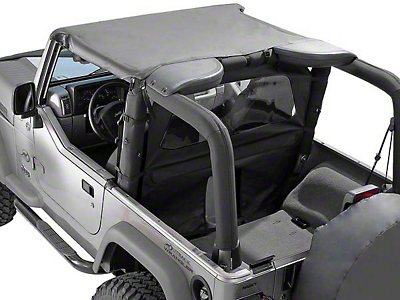 Rugged Ridge Summer Brief Top - Black Vinyl (87-91 Wrangler YJ)