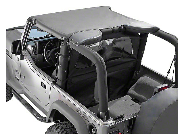 Rugged Ridge Summer Brief Top - Gray (87-91 Wrangler YJ)