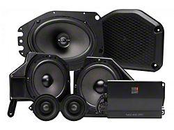 MB Quart Six Speaker 800 Watt STAGE 6 OEM Audio System Upgrade for OEM Radios (18-21 Jeep Wrangler JL)