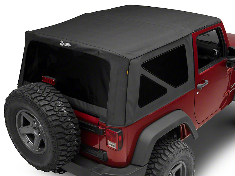 Bestop Supertop NX Soft Top - Black Diamond (07-18 Wrangler JK 2 Door)