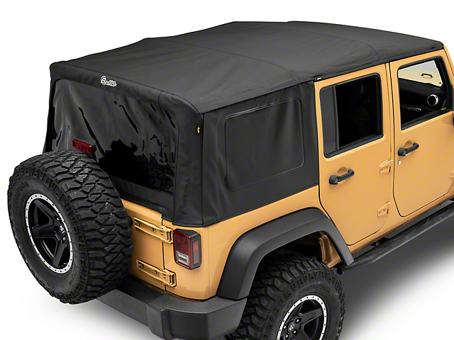 Bestop Supertop NX Soft Top - Black Diamond (07-18 Jeep Wrangler JK 4 Door)