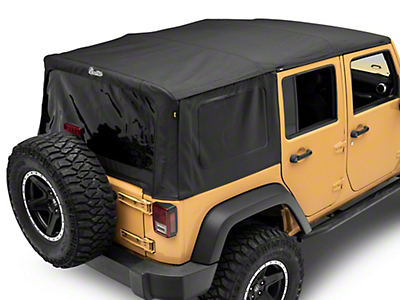 Bestop Supertop NX Soft Top - Black Diamond (07-18 Wrangler JK 4 Door)