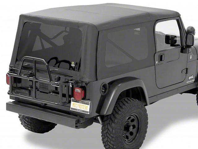 Bestop Supertop NX Soft Top; Black Diamond (04-06 Jeep Wrangler TJ Unlimited)