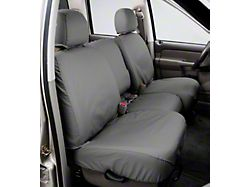 Covercraft SeatSaver Second Row Seat Cover; Gray; With Folding Solid Bench Seat and 2-Adjustable Headrestss (18-21 Jeep Wrangler JL)