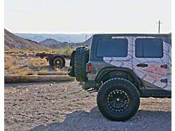 Rear Fender Flares; Textured (18-21 Jeep Wrangler JL 4-Door)