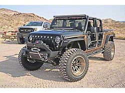 Stubby Front Bumper; Textured Black (20-22 Jeep Gladiator JT)