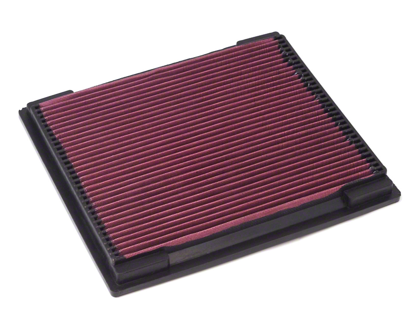 Rugged Ridge Reusable Synthetic Air Filter (97-06 2.5L or 4.0L Wrangler TJ)