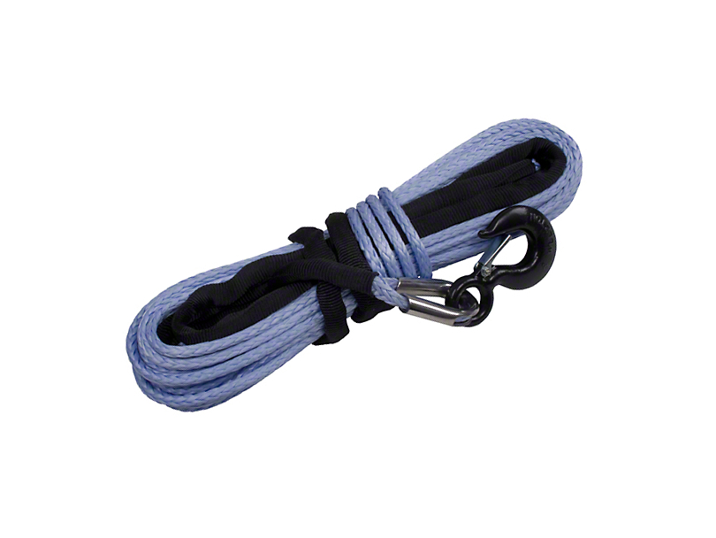 Rugged Ridge 11/32 in. x 100 ft. Synthetic Winch Rope - 16,550 lbs.