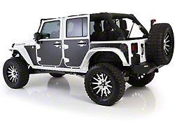 Smittybilt MAG Armor Magnetic Trail Skin for Front Door; Driver Side (07-18 Jeep Wrangler JK)