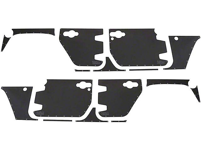 Smittybilt MAG Armor Magnetic Trail Skin for Front Door; Passenger Side (07-18 Jeep Wrangler JK)