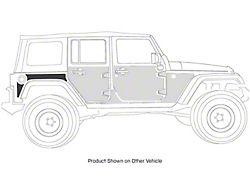 Smittybilt MAG Armor Magnetic Trail Skin for Rear Fender Flare; Passenger Side (07-18 Jeep Wrangler JK 2-Door)