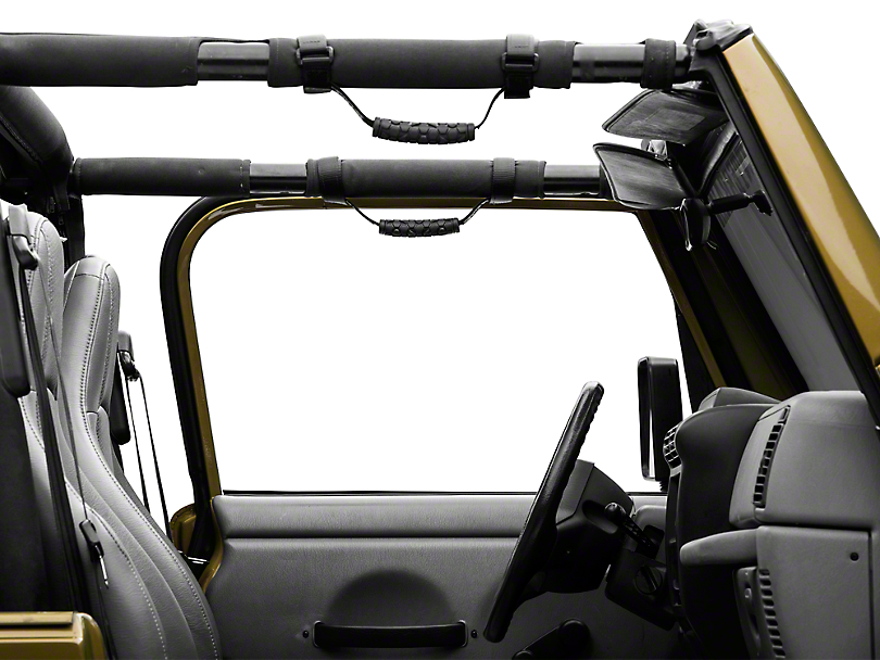 Teraflex 2 in. Grab Handles (87-18 Jeep Wrangler YJ, TJ, JK & JL)