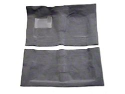Pro-Line Replacement Front and Rear Carpet Kit; Gray (76-86 Jeep CJ7; 87-95 Jeep Wrangler YJ)