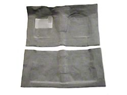 Pro-Line Replacement Front and Rear Carpet Kit; Corp Gray (97-06 Jeep Wrangler TJ)