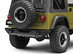 Rugged Ridge XHD Rear Bumper (87-06 Jeep Wrangler YJ & TJ)