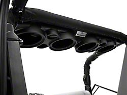 American SoundBar Empty Speaker Enclosure; Black (97-06 Jeep Wrangler TJ)