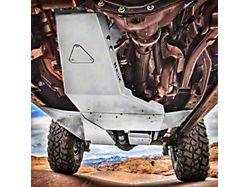 Hauk Off-Road Complete Skid Plate System; Bare Steel (18-21 3.6L Jeep Wrangler JL 4-Door)