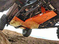 Hauk Off-Road Complete Skid Plate System; Gloss Punk'N Orange (18-21 3.6L Jeep Wrangler JL 4-Door)