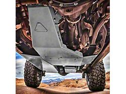 Hauk Off-Road Complete Skid Plate System; Gloss Sting Gray (18-21 3.6L Jeep Wrangler JL 4-Door)