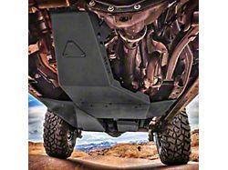 Hauk Off-Road Complete Skid Plate System; Textured Black (18-21 3.6L Jeep Wrangler JL 4-Door)
