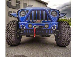 Hauk Off-Road Predator Series Front Bumper; Gloss Ocean Blue (18-21 Jeep Wrangler JL)