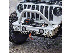 Hauk Off-Road Predator Series Grille Guard; Gloss White (18-21 Jeep Wrangler JL)