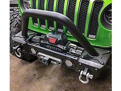 Hauk Off-Road Predator Series Grille Guard; Textured Black (18-21 Jeep Wrangler JL)