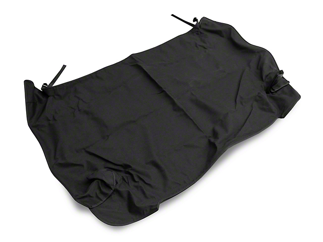 Smittybilt Tonneau Cover - Black Denim (92-95 Jeep Wrangler YJ)